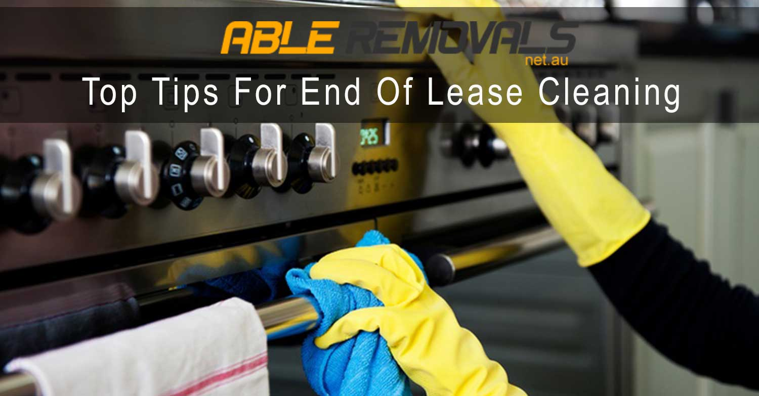 Tips For End Of Lease Cleaning